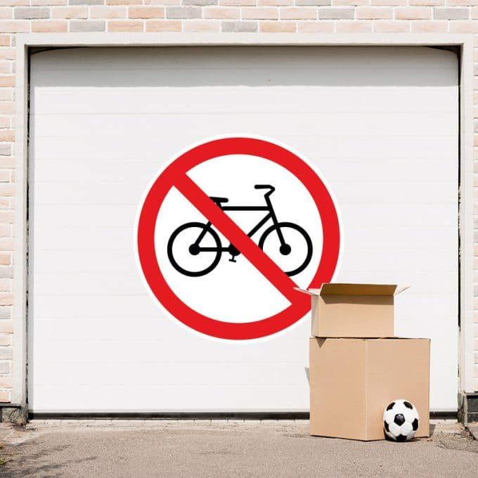 fietsen-verboden-garage-sticker