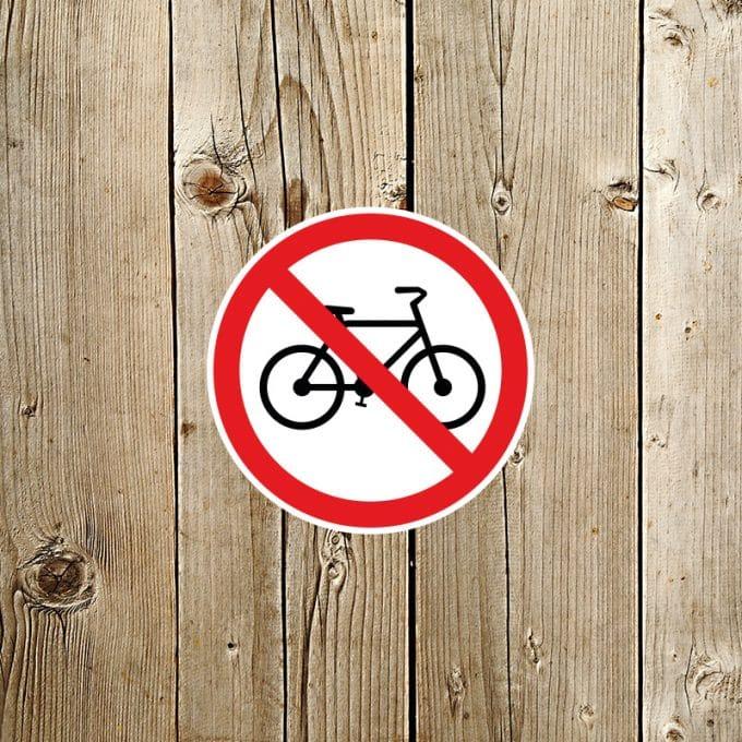 fietsen-verboden-sticker