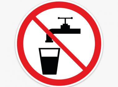 geen-drinkwater-stickers-drinken-verboden-verbodsstickers-rood