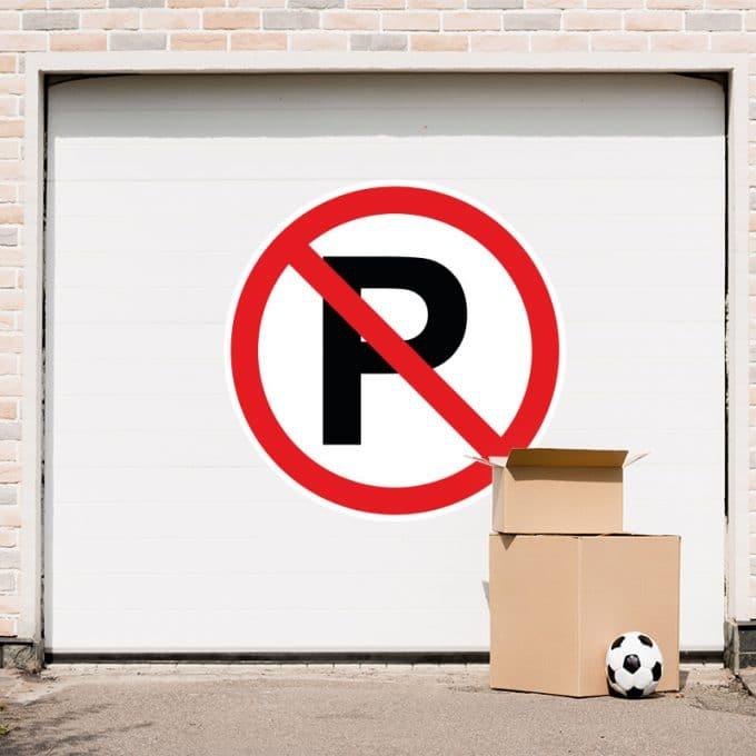 niet-parkeren-sticker-garage