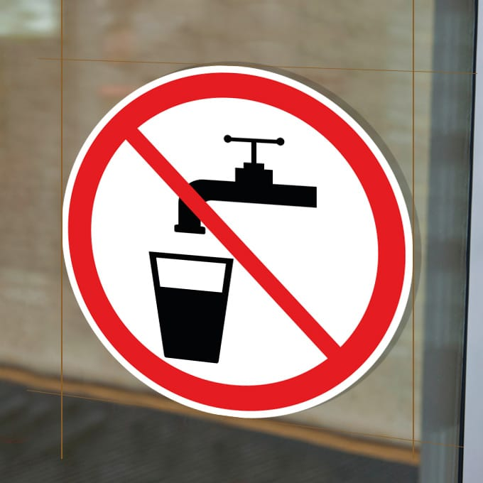 verboden-te-drinken-geen-drinkwater-stickers-rood-wit-raamsticker