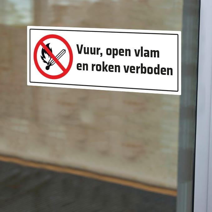 vuur-open-vlame-roken-verboden-sticker-verbodssticker