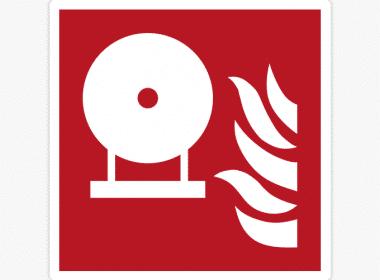Sticker-vaste-brandblusser-ISO-7010—F013-brandveiligheid-stickers
