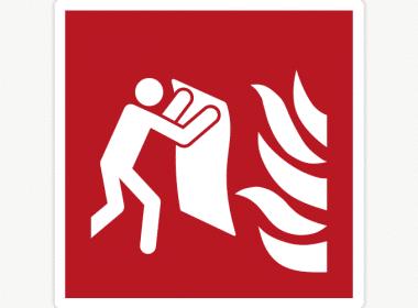 Sticker-vuurdeken–branddeken-ISO-7010—F016-brandveiligheid