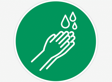 coronavirus stickers handen wassen hygiene veiligheid 1