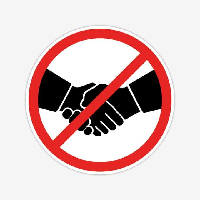 verboden-handen-schudden-sticker