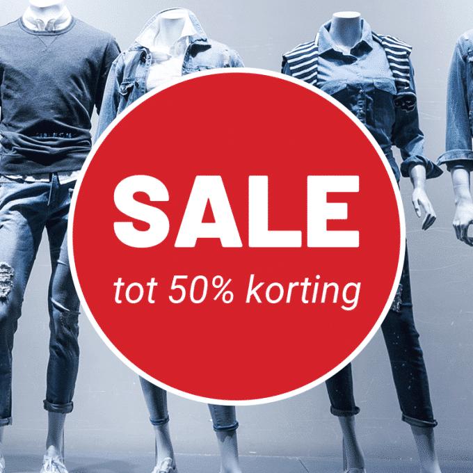 raamsticker sale korting 50% 40% 20% 10% uitverkoop korting stickers
