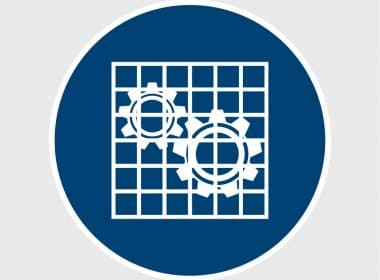 Sticker Bescherming controleren ISO 7010 M027 gebodssticker veiligheidsstickerArtboard 1-80
