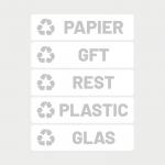 rest-papier-afval-reycle-glas-plastic-stickers-wit-grijs